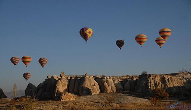 Kapadokya'da balon uçuşları ertelendi