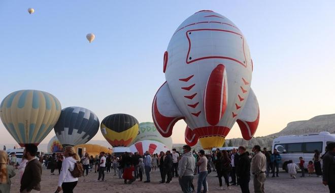 Kapadokya'da festival başladı#video