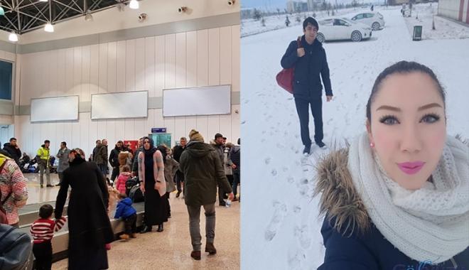 Kars yerine Erzurum'a inen uçaklar mağdur ediyor!