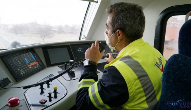 Konya-Karaman hızlı tren test sürüşleri(video)