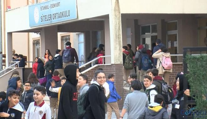 Koronavirüs tatili öncesi İstanbul'daki okullarda bugün