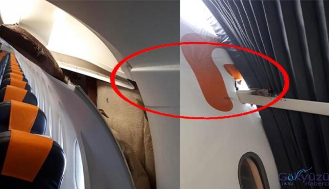 Freebird uçağına körük demiri saplandı!