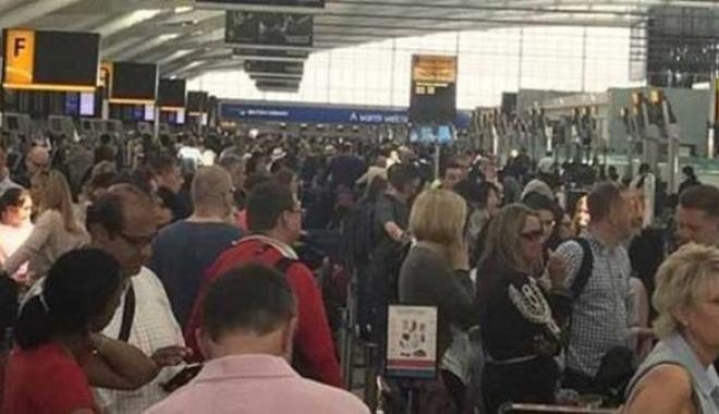Londra'da Alarm Sesleri, Havalimanı Boşaltıldı