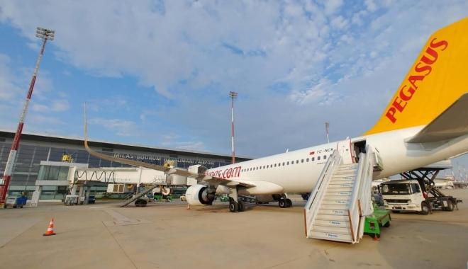 Milas-Bodrum Havalimanı'na Kharkiv'den yeni uçuşlar