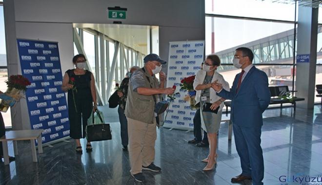 Milas-Bodrum'da dış hat uçuşları başladı