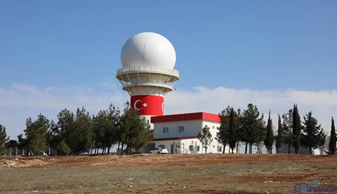 Milli Gözetim Radarı,Gaziantep Havalimanı'nda kuruldu