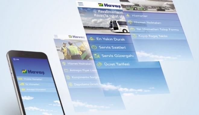 Mobil Uygulamasıyla Havaş'a Her Yerden Rahat Ulaşın
