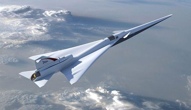 NASA sessiz süpersonik uçak yapacak