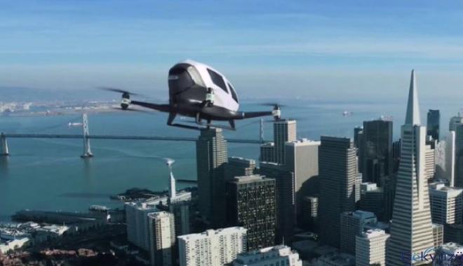 Nevada, Otonom Yolcu Dronlarını Test Etmeye Başlayacak