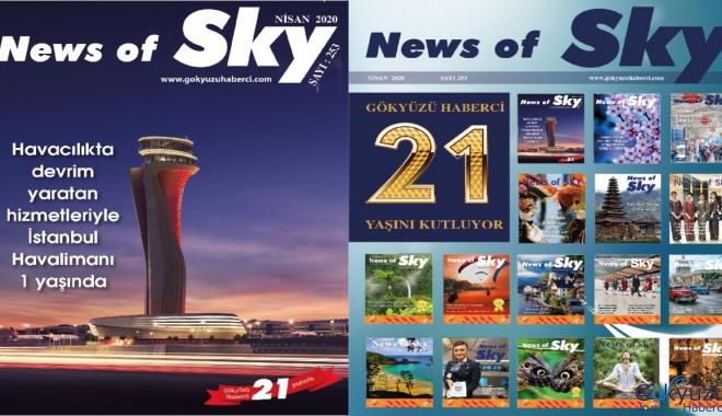 News of Sky Dergimiz Nisan Sayısı çıktı!
