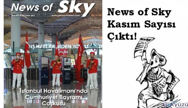 News of Sky,Gökyüzü Haberci Dergisi Kasım Sayısı çıktı! video
