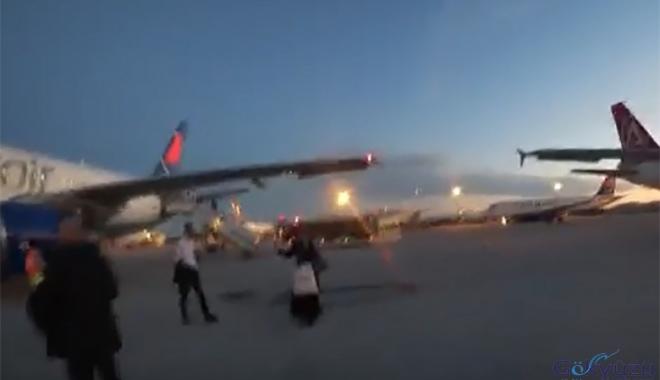 Onur Air İstanbul yolcularını perişan etti!