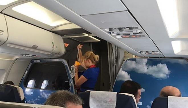 Onur Air uçağında hem koku var hem de gürültü!