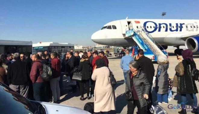Onur Air'in ikinci uçağı arızalandı!