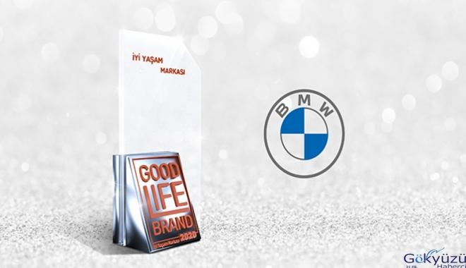 Otomotiv'de İyi Yaşam Markası Ödülü BMW'nin