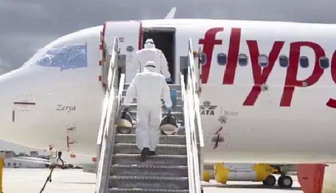 #Pegasus Ankara-Tahran seferlerine başlıyor#video