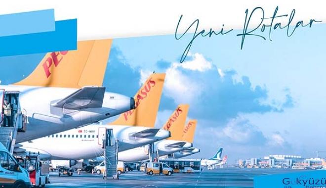 Pegasus Eylül ayı uçuş listesini duyurdu!