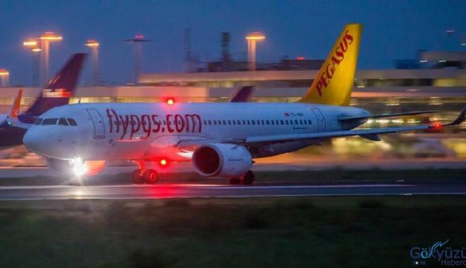 Pegasus Hava Yolları Yolcu sayısı Kasım'da arttı!