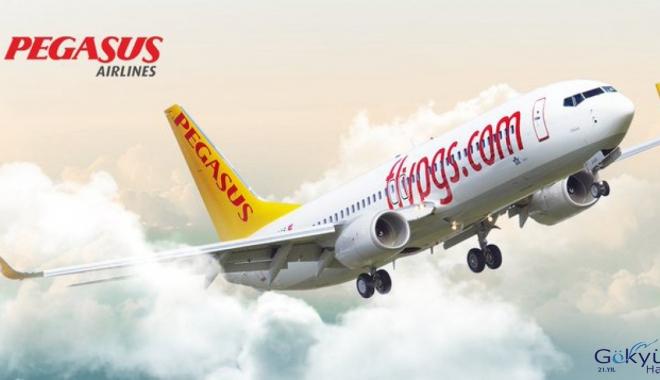 Pegasus Havayolları, Aralık ayı iç hat yolcu sayısını açıkladı.