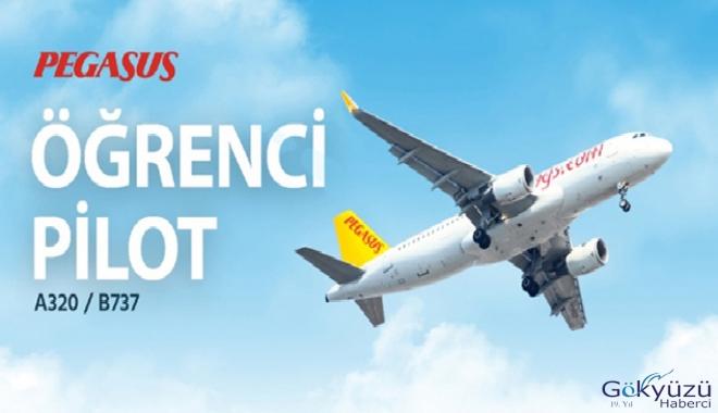 Pegasus Havayolları öğrenci pilot adayları arıyor
