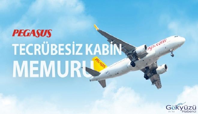 Pegasus Havayolları tecrübesiz kabin memurları arıyor