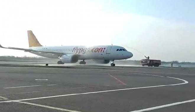 #Pegasus'un Sabiha Gökçen-Odessa uçuşları başladı(video)