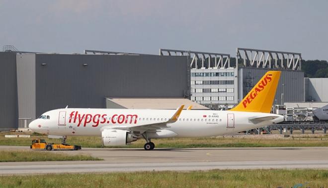 Pegasus, A320NEO tipi  uçağını teslim aldı