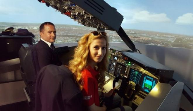 Pilot Olmak İsteyenler Simülatöre Koştu