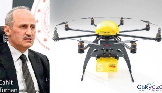 PTT drone ile kargo taşımaya başlayacak