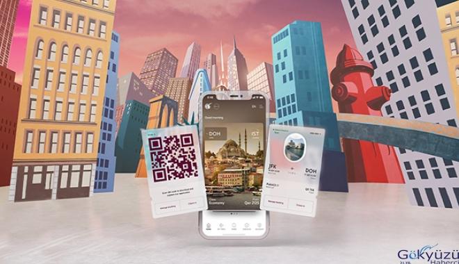 Qatar Airways mobil uygulamasını güncelledi