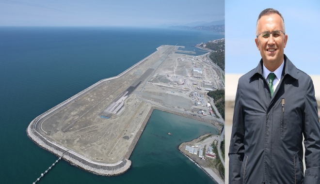 Rize- Artvin havalimanı mühendislik harikası(video)