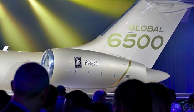 Rolls-Royce,Global 6500'ü resmen hizmete sokuyor