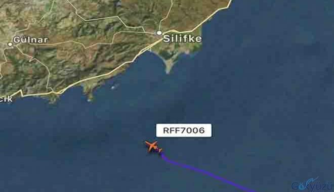 Rus Hava Kuvvetleri Rusya'ya geri dönüyor.