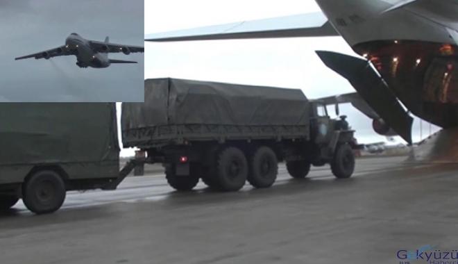 Rusya barış güçlerini taşıyan 20 uçağı Erivan'a gönderdi