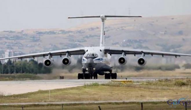 S-400 sevkiyatında 15. uçak Mürted'e indi