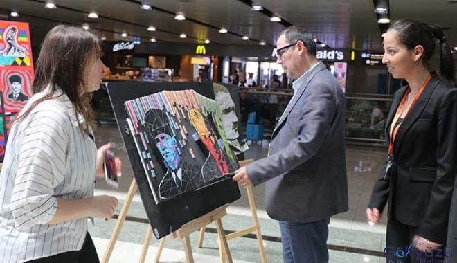 Sabiha Gökçen Havalimanı'nda 19 Mayıs Sergisi