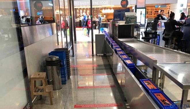 Sabiha Gökçen Havalimanı'nda