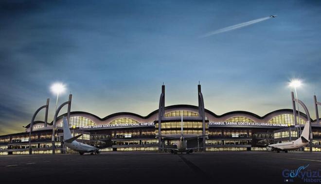 video İSG  Havalimanı'nda uçuşlar geçici süre durduruldu