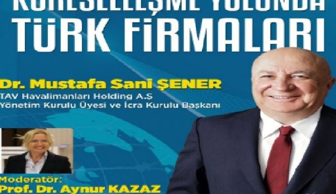 Sani Şener Antalya'da konuşma yapacak!