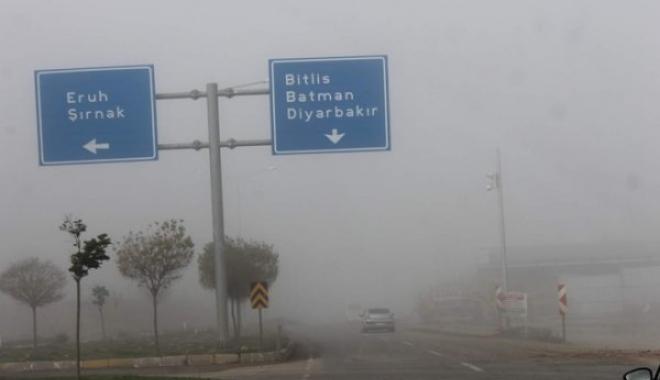 Siirt'te Uçuşlar İptal Edildi