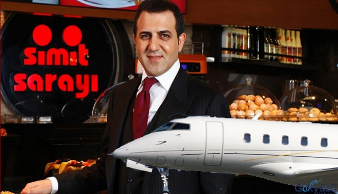 Simit Sarayı'ndan Satılık uçak!