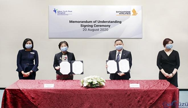 Singapur Havayollar ve Khoo Teck Puat işbirliği yapacak