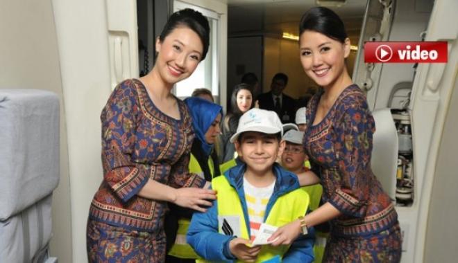 Singapur Havayolları, Türkiye'deki 30'ncu yılını kutladı