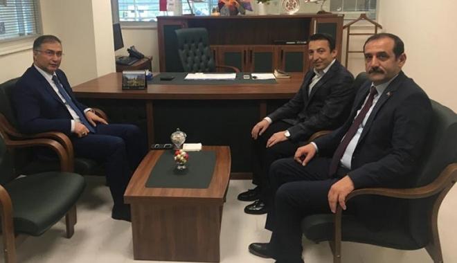 Sinop Valisi Şakalar'dan THY Satış Müdürü'ne ziyaret