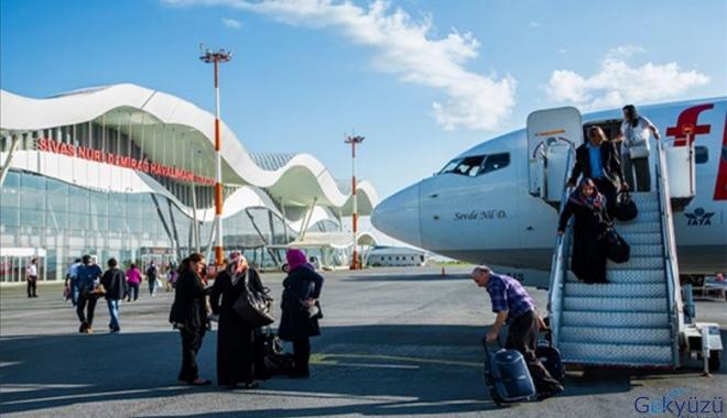 Sivas Havalimanı'nda yolcu sayısı azaldı!