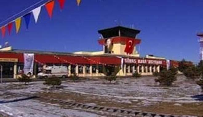 Sivas Havaalanı açıldı