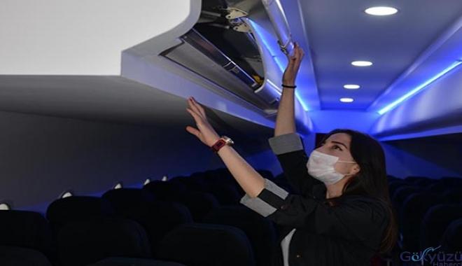 Sivil Havacılık öğrencileri uçakta ders işleyecek