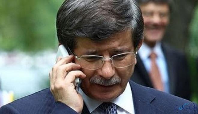 Sn. Ahmet Davutoğlu Şehidimizi unutmadı.
