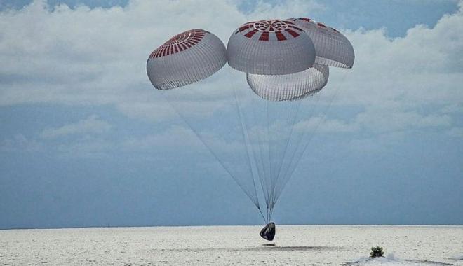 SpaceX'in 3 günlük uzay yolculuğu sona erdi!
