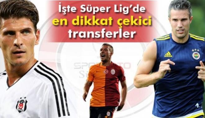 Spor Toto Süper Lig'de 188 Futbolcu Transfer Edildi